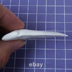 2.629'' Huge Modern Principle Great White Shark Tooth Megalodon Movie Fan HT44